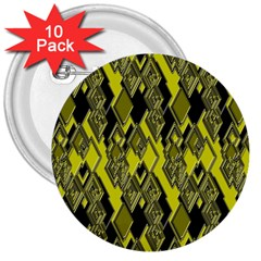 Seamless Pattern Background Seamless 3  Buttons (10 Pack)