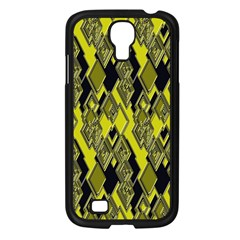 Seamless Pattern Background Seamless Samsung Galaxy S4 I9500/ I9505 Case (black)