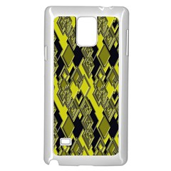 Seamless Pattern Background Seamless Samsung Galaxy Note 4 Case (white)