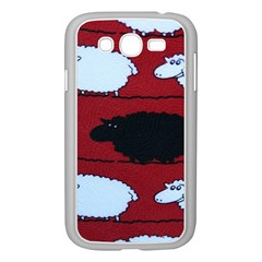 Sheep Samsung Galaxy Grand DUOS I9082 Case (White) by Nexatart
