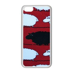 Sheep Apple Iphone 5c Seamless Case (white)