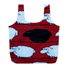 Sheep Full Print Recycle Bags (l)