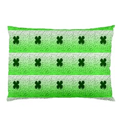 Shamrock Pattern Pillow Case (two Sides)