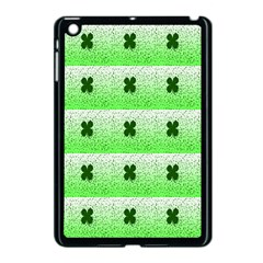 Shamrock Pattern Apple Ipad Mini Case (black)