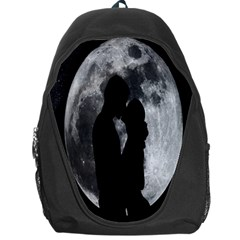Silhouette Of Lovers Backpack Bag