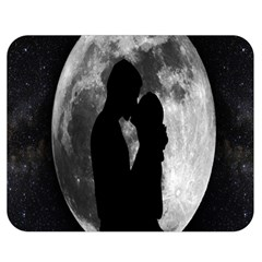 Silhouette Of Lovers Double Sided Flano Blanket (medium)