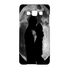 Silhouette Of Lovers Samsung Galaxy A5 Hardshell Case