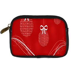 Simple Merry Christmas Digital Camera Cases