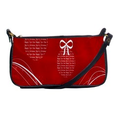 Simple Merry Christmas Shoulder Clutch Bags by Nexatart