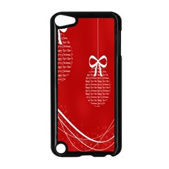 Simple Merry Christmas Apple Ipod Touch 5 Case (black)