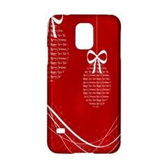 Simple Merry Christmas Samsung Galaxy S5 Hardshell Case