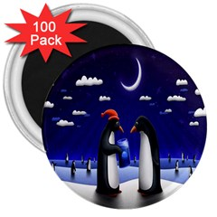 Small Gift For Xmas Christmas 3  Magnets (100 Pack) by Nexatart