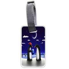 Small Gift For Xmas Christmas Luggage Tags (one Side)  by Nexatart