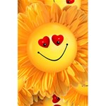 Smiley Joy Heart Love Smile 5.5  x 8.5  Notebooks Front Cover