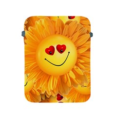 Smiley Joy Heart Love Smile Apple Ipad 2/3/4 Protective Soft Cases by Nexatart