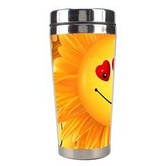 Smiley Joy Heart Love Smile Stainless Steel Travel Tumblers