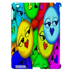 Smiley Girl Lesbian Community Apple Ipad 3/4 Hardshell Case (compatible With Smart Cover) by Nexatart