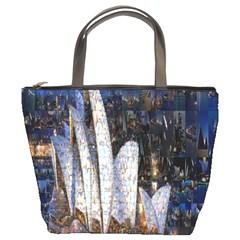 Sidney Travel Wallpaper Bucket Bags by Nexatart