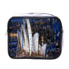 Sidney Travel Wallpaper Mini Toiletries Bags