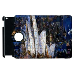 Sidney Travel Wallpaper Apple Ipad 2 Flip 360 Case by Nexatart