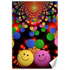 Smiley Laugh Funny Cheerful Canvas 20  X 30   by Nexatart
