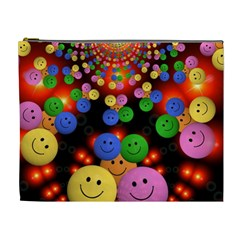 Smiley Laugh Funny Cheerful Cosmetic Bag (xl)