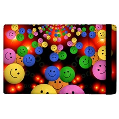 Smiley Laugh Funny Cheerful Apple Ipad 3/4 Flip Case