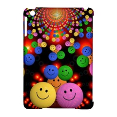 Smiley Laugh Funny Cheerful Apple Ipad Mini Hardshell Case (compatible With Smart Cover) by Nexatart