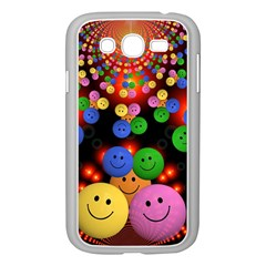 Smiley Laugh Funny Cheerful Samsung Galaxy Grand Duos I9082 Case (white)