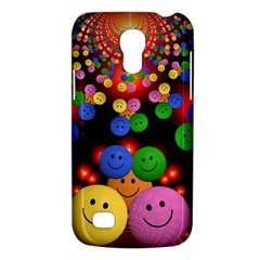 Smiley Laugh Funny Cheerful Galaxy S4 Mini by Nexatart