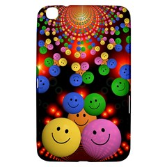 Smiley Laugh Funny Cheerful Samsung Galaxy Tab 3 (8 ) T3100 Hardshell Case