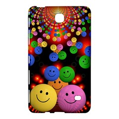 Smiley Laugh Funny Cheerful Samsung Galaxy Tab 4 (8 ) Hardshell Case  by Nexatart