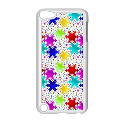 Snowflake Pattern Repeated Apple Ipod Touch 5 Case (white) by Nexatart