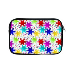 Snowflake Pattern Repeated Apple Ipad Mini Zipper Cases by Nexatart