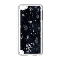 Snowflake Snow Snowing Winter Cold Apple Ipod Touch 5 Case (white) by Nexatart