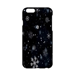 Snowflake Snow Snowing Winter Cold Apple Iphone 6/6s Hardshell Case