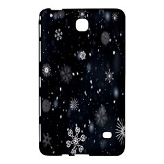 Snowflake Snow Snowing Winter Cold Samsung Galaxy Tab 4 (8 ) Hardshell Case  by Nexatart
