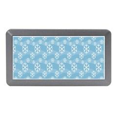 Snowflakes Winter Christmas Memory Card Reader (mini)