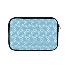 Snowflakes Winter Christmas Apple Ipad Mini Zipper Cases