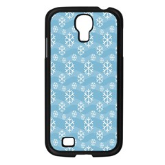 Snowflakes Winter Christmas Samsung Galaxy S4 I9500/ I9505 Case (black)