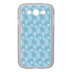 Snowflakes Winter Christmas Samsung Galaxy Grand Duos I9082 Case (white)