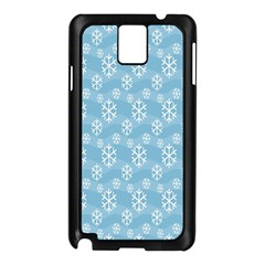 Snowflakes Winter Christmas Samsung Galaxy Note 3 N9005 Case (black)