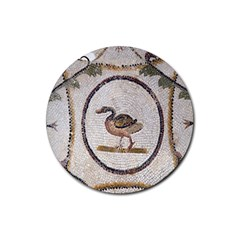 Sousse Mosaic Xenia Patterns Rubber Coaster (round)