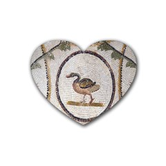 Sousse Mosaic Xenia Patterns Heart Coaster (4 Pack)