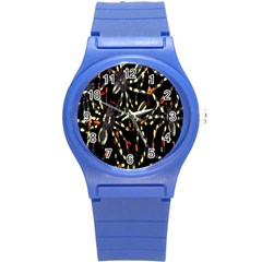 Spiders Colorful Round Plastic Sport Watch (s)