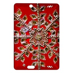 Snowflake Jeweled Amazon Kindle Fire Hd (2013) Hardshell Case