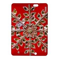 Snowflake Jeweled Kindle Fire Hdx 8 9  Hardshell Case by Nexatart
