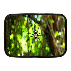 Spider Spiders Web Spider Web Netbook Case (medium)  by Nexatart