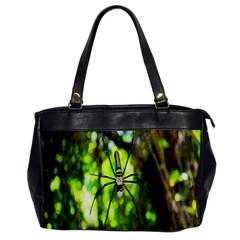 Spider Spiders Web Spider Web Office Handbags by Nexatart