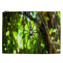 Spider Spiders Web Spider Web Cosmetic Bag (xxl)  by Nexatart